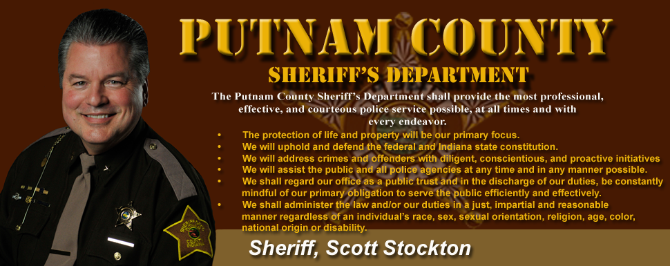Welcome to the Putnam County Sheriff's webpage